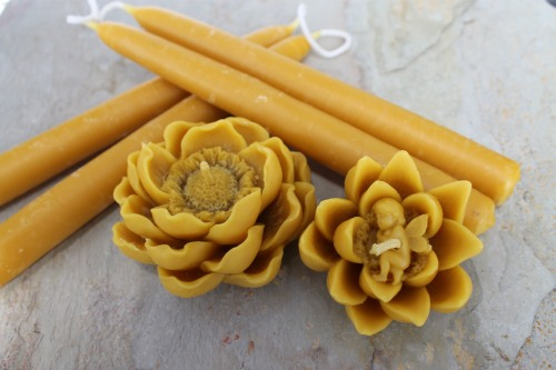 Heather's Amazing fragrant bees wax candles, you just can't get enough of this time of year