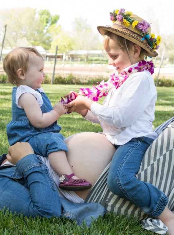 portraits - Erin O'Neil 3rd pregnancy